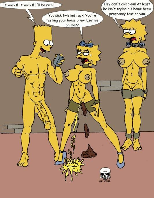 and simpson homer porn lisa Splatoon callie and marie porn