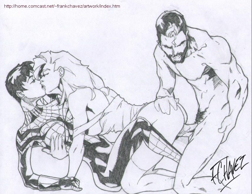and kiss man spider firestar Garnet from steven universe images