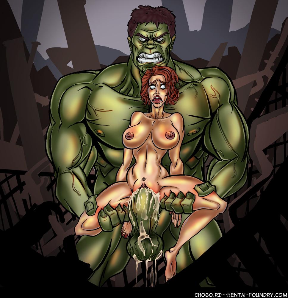 widow gif hulk black pounding Here there be dragons porn comic