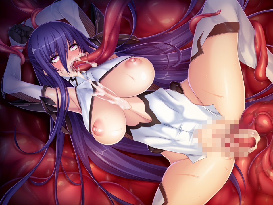 the all porn through tentacle way Cock and ball torture hentai