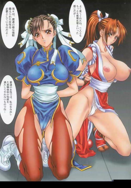 mai shiranui chun and li Haiyore nyaruko-san kuuko