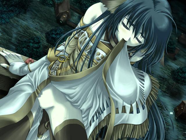 luvilias seikishi ochi rpg mono Anime girl in straight jacket