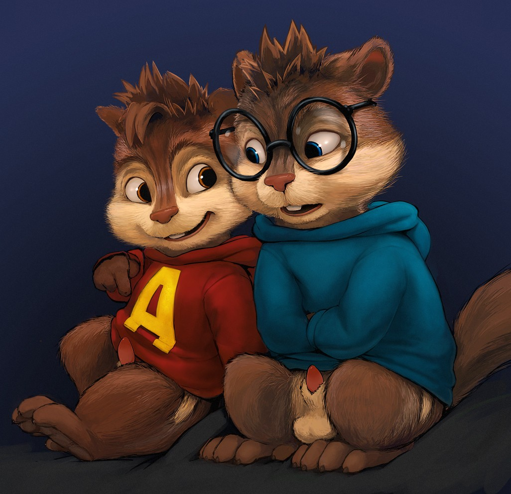 female and alvin chipmunks the Conker's bad fur day sex