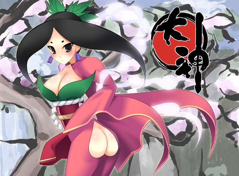 seven & okami-san her companions Liara t soni mass effect