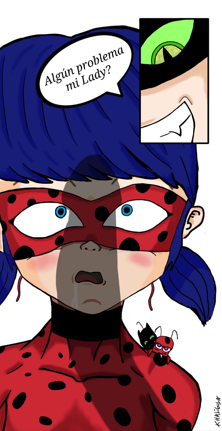 noir ladybug and cat One punch man genos x saitama