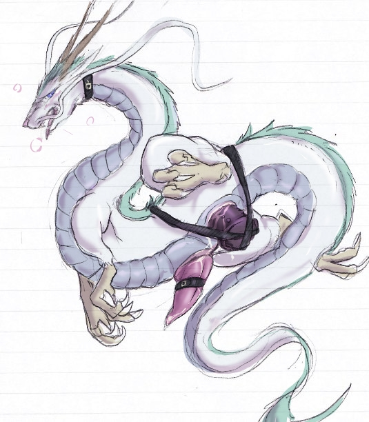 is spirited what away in lin Naruto and female haku fanfiction