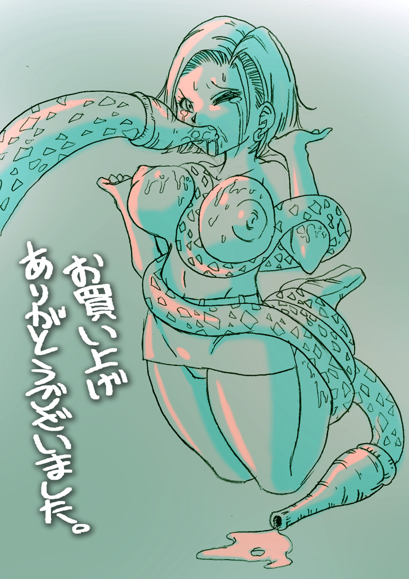 android 18 ball dragon z Riven of a thousand voices art