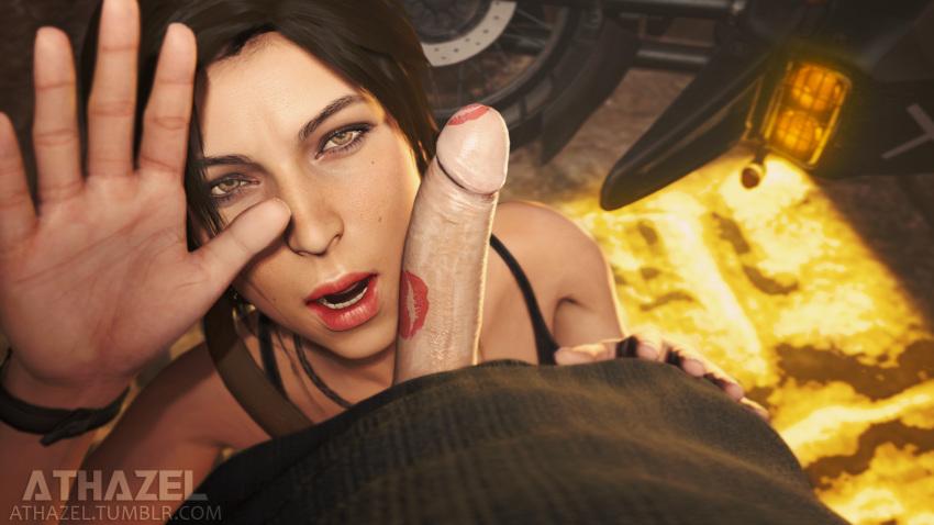 rise of raider tomb nude the Ahoge girl and dark skinned girl