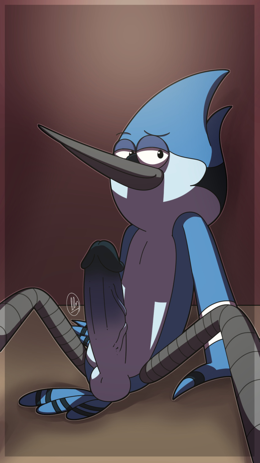 what mordecai regular is show from Picture of high school dxd