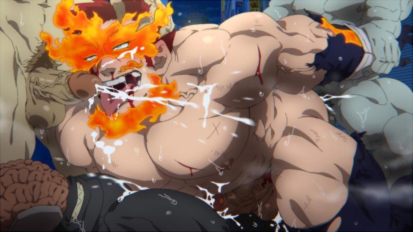 hero academia jiro porn my Honkai impact 3rd
