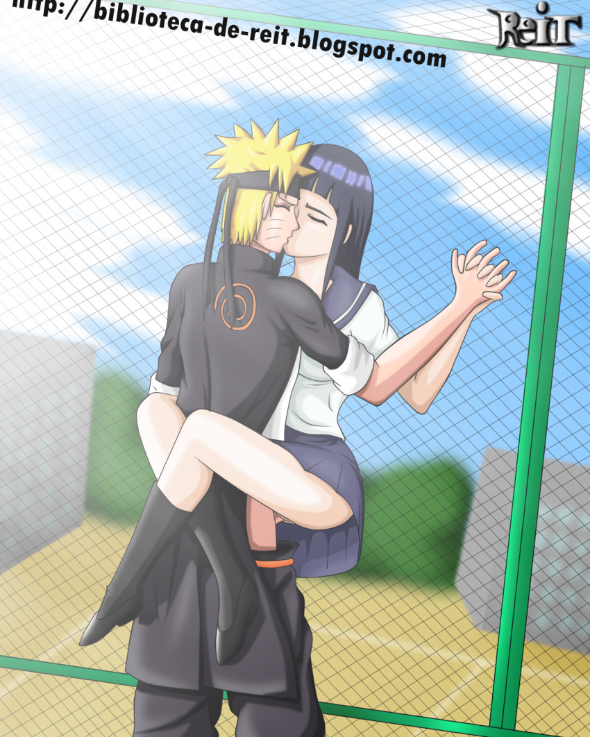 hinata and rulers naruto are White haired fox girl anime
