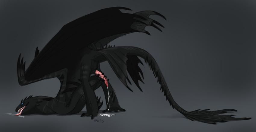 how a to hentai dragon train Akame ga kill hentai mine