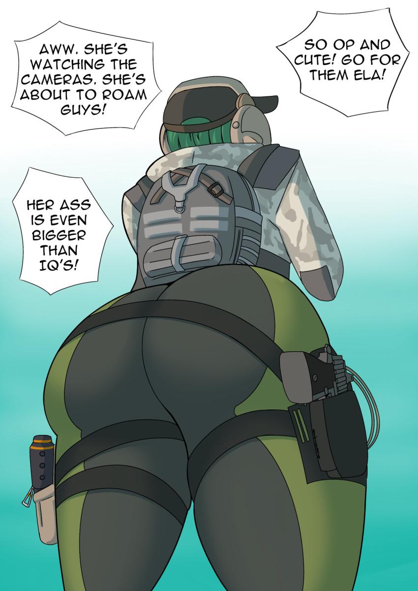 six rainbow art ela siege Overwatch soldier 76 x reader
