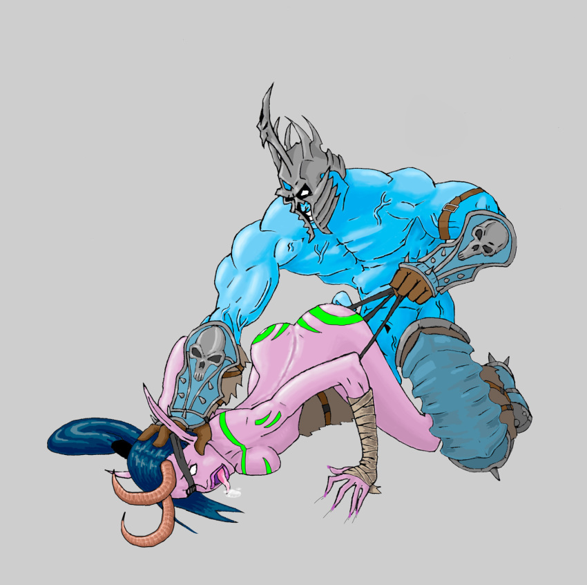 female world warcraft of goblin Devil may cry
