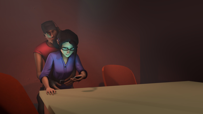 scout tf2 pauling miss and Unity rick and morty